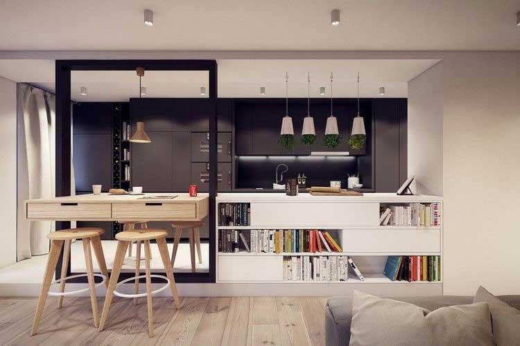 comment int grer la couleur noire dans votre d co int rieure. Black Bedroom Furniture Sets. Home Design Ideas