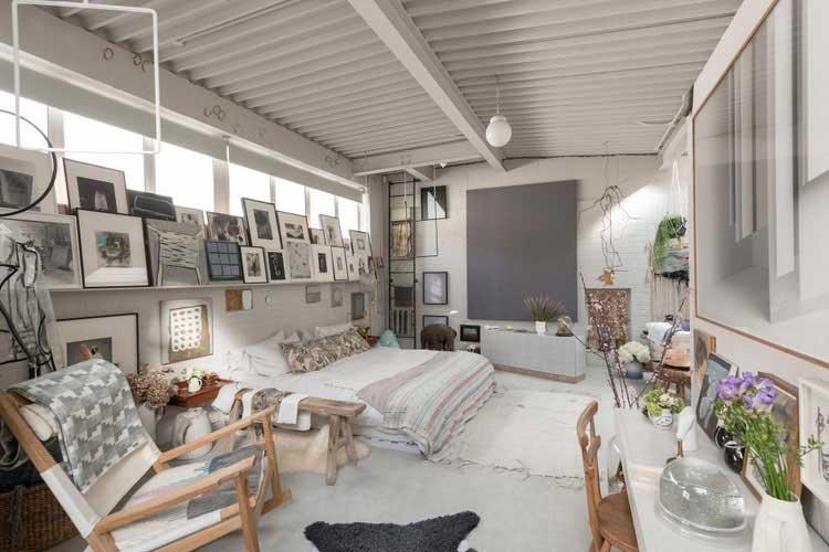 ancien entrepot transforme en loft