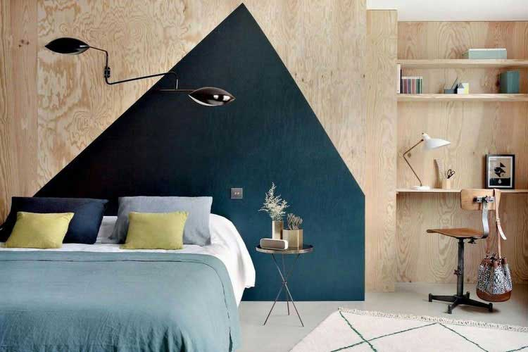 best peinture mur bleu canard ideas. Black Bedroom Furniture Sets. Home Design Ideas