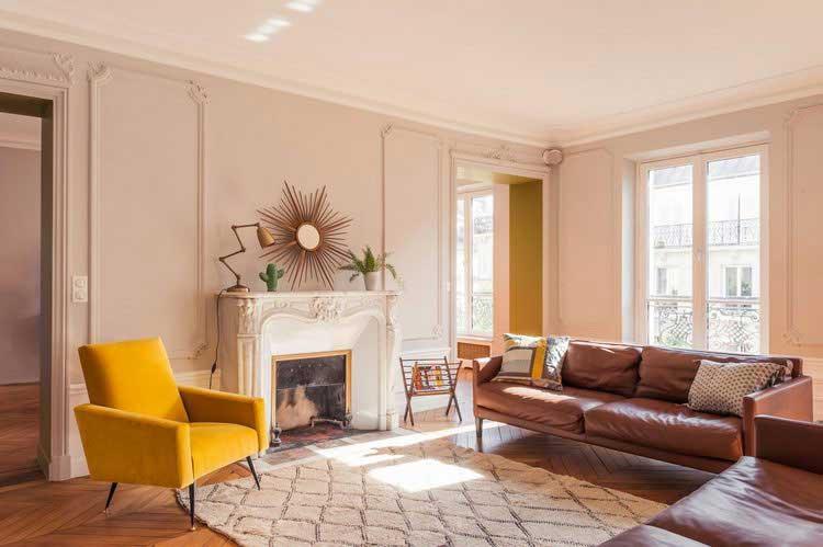 Rooms Styles From Our Latest Catalog: Jaune Moutarde : Adopter Cette Couleur Pour Un Intérieur