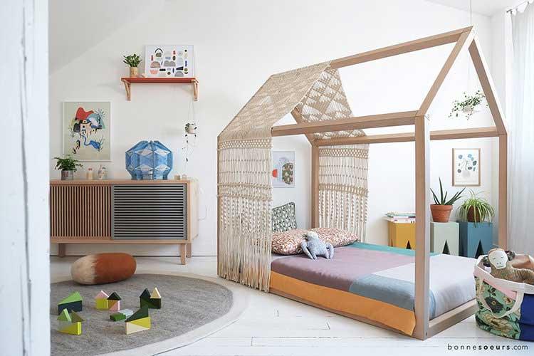Un Lit Cabane Pour Créer Un Cocon Dans La Chambre De Votre Enfant