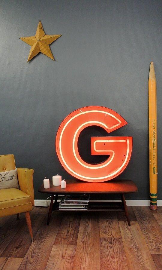 lettre lumineuse o trouver des mod les originaux pour votre d co. Black Bedroom Furniture Sets. Home Design Ideas
