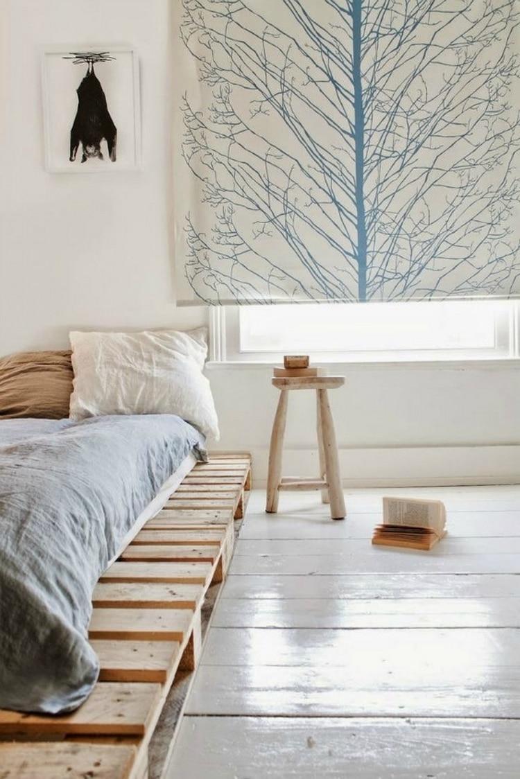 lit en palette : 26 idées pour en fabriquer un dans votre chambre