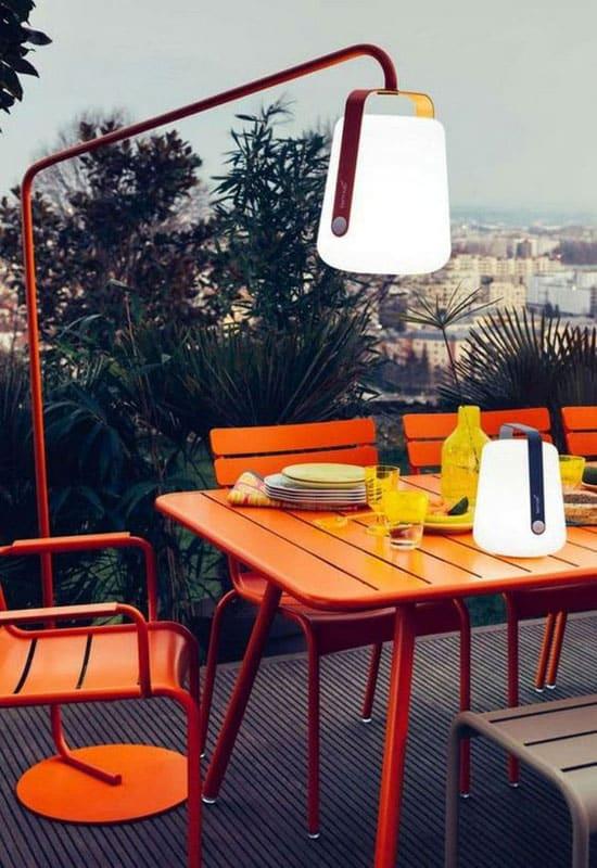 lampes Fermob pour un éclairage de terrasse design