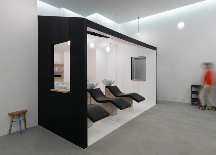 decoration salon de coiffure photo. Black Bedroom Furniture Sets. Home Design Ideas