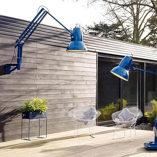éclairage de terrasse à l'aide de luminaire outdoor XXL