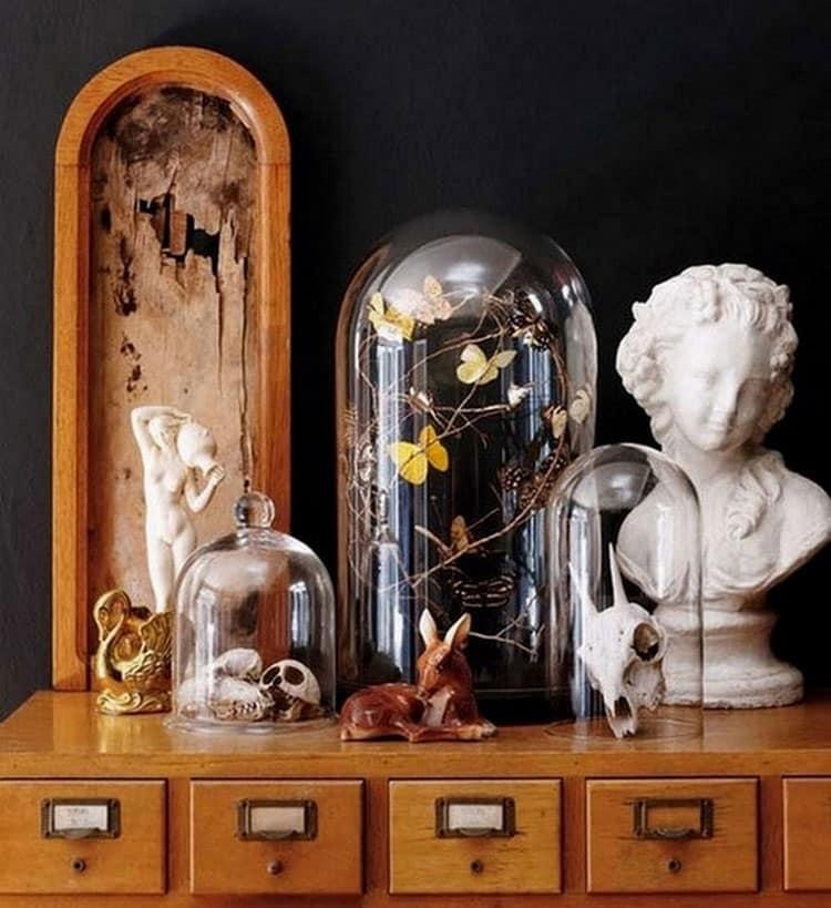 Comment cr er un cabinet de curiosit s la maison - Cabinet de curiosite contemporain ...