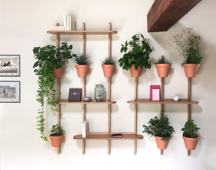 etagere murale pour plante d interieure