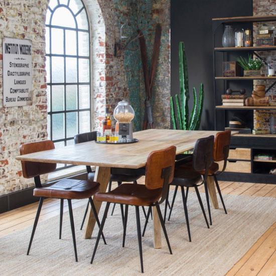 Table Style Industriel Avec Rallonges Quel Modele Choisir