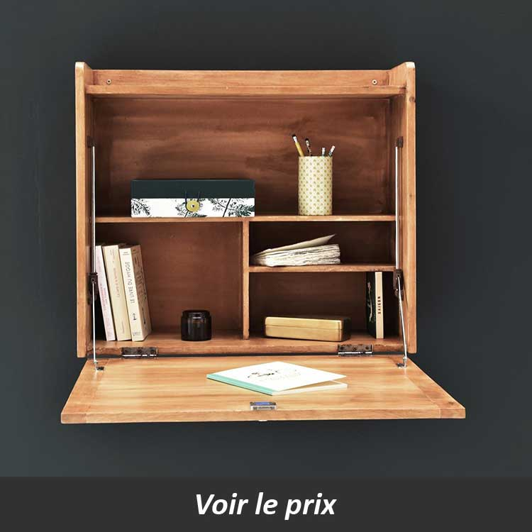 7 id es de bureau mural rabattable pour petits espaces. Black Bedroom Furniture Sets. Home Design Ideas