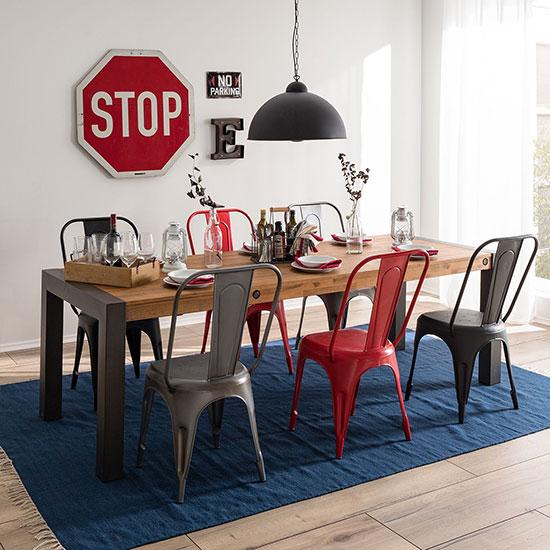 Table style industriel avec rallonges : Quel modèle choisir?