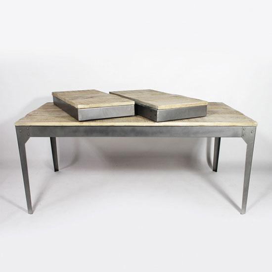 Table Style Industriel Avec Rallonges Quel Modèle Choisir