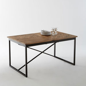 Table A Manger Industrielle Extensible.Table Style Industriel Avec Rallonges Quel Modele Choisir