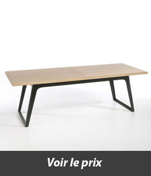 table style industriel avec rallonges quel mod le choisir. Black Bedroom Furniture Sets. Home Design Ideas