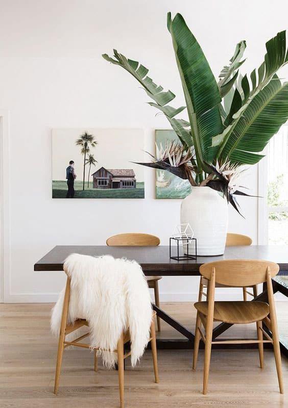 hauteur table de salle à manger