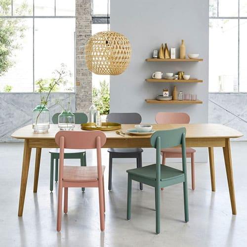 table de salle à manger extensible