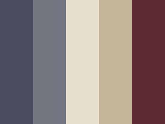 Avec quelles couleurs associer le bordeaux