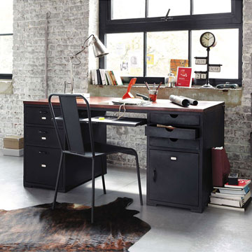 quel meuble de bureau choisir selon sa d co et ses go ts. Black Bedroom Furniture Sets. Home Design Ideas
