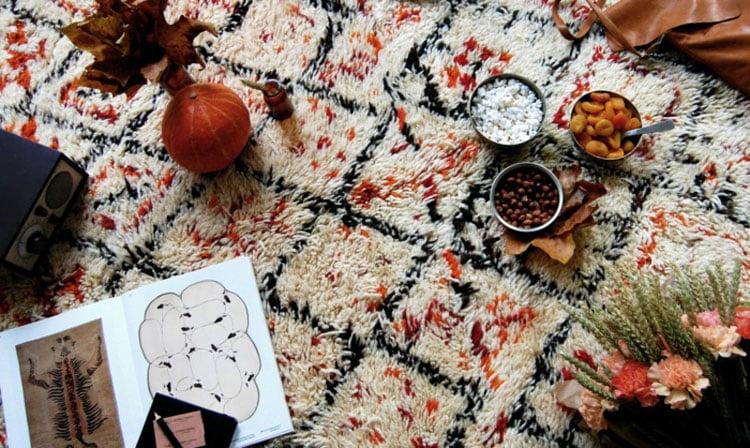 origines du tapis berbère