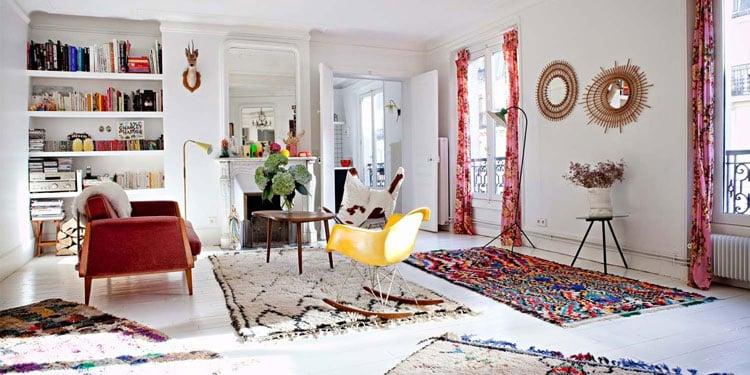 o trouver un tapis berb re pour une d co authentique. Black Bedroom Furniture Sets. Home Design Ideas
