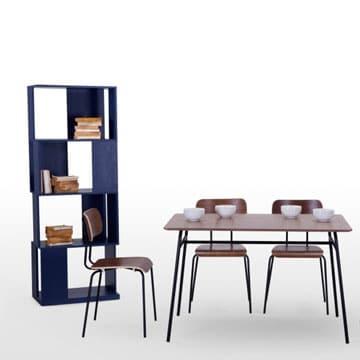 chaise style industriel en bois