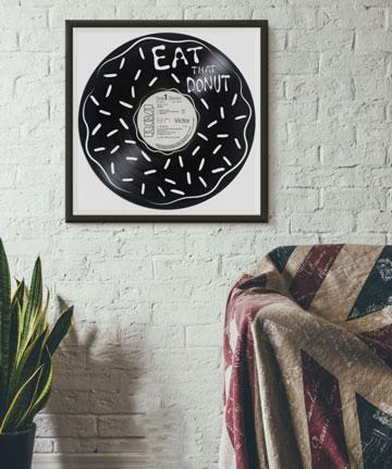 oeuvre art disque vinyle