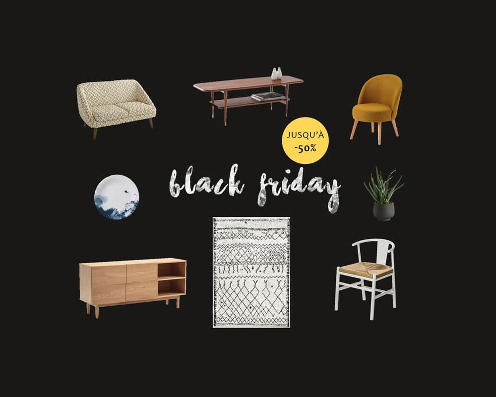 d co les meilleurs offres du black friday pour de la d co pas cher. Black Bedroom Furniture Sets. Home Design Ideas