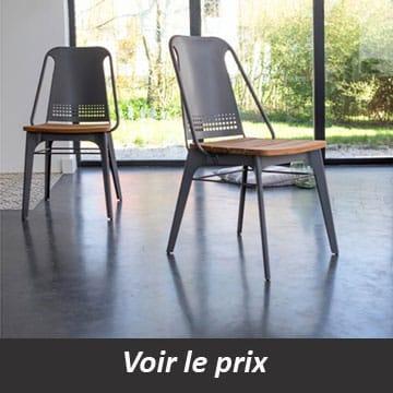 chaise style industriel quel mod le choisir pour un look atelier. Black Bedroom Furniture Sets. Home Design Ideas