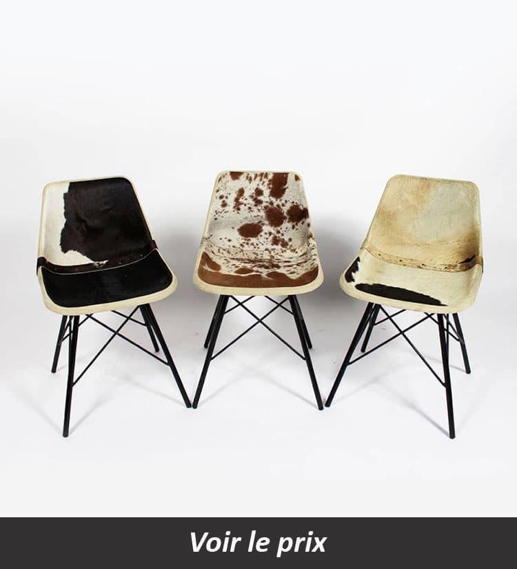 chaise en fourrure