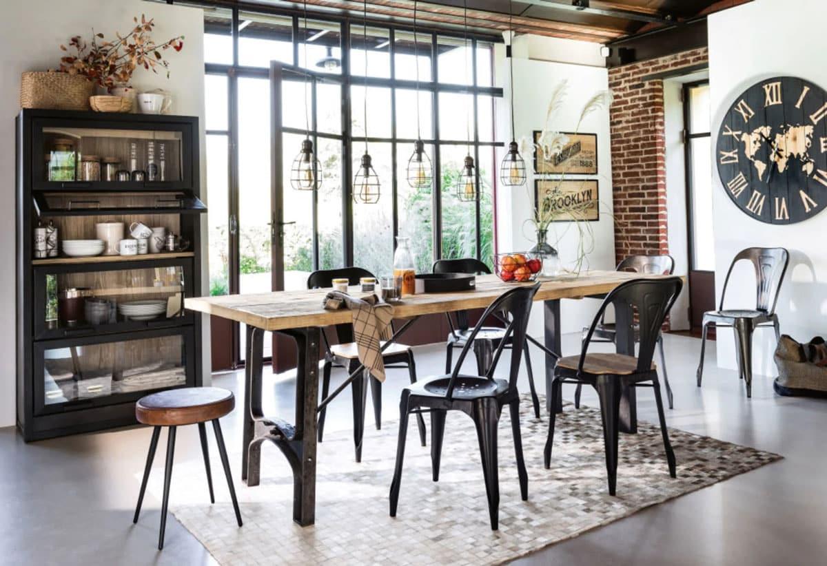 chaise industrielle quel modele choisir pour un look atelier