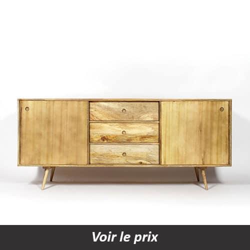 coup de cur pour le buffet en bois clair made in meubles - Enfilade Bois Clair