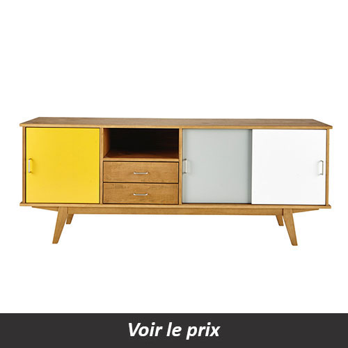 enfilade scandinave 15 mod les pour une salle manger vintage. Black Bedroom Furniture Sets. Home Design Ideas