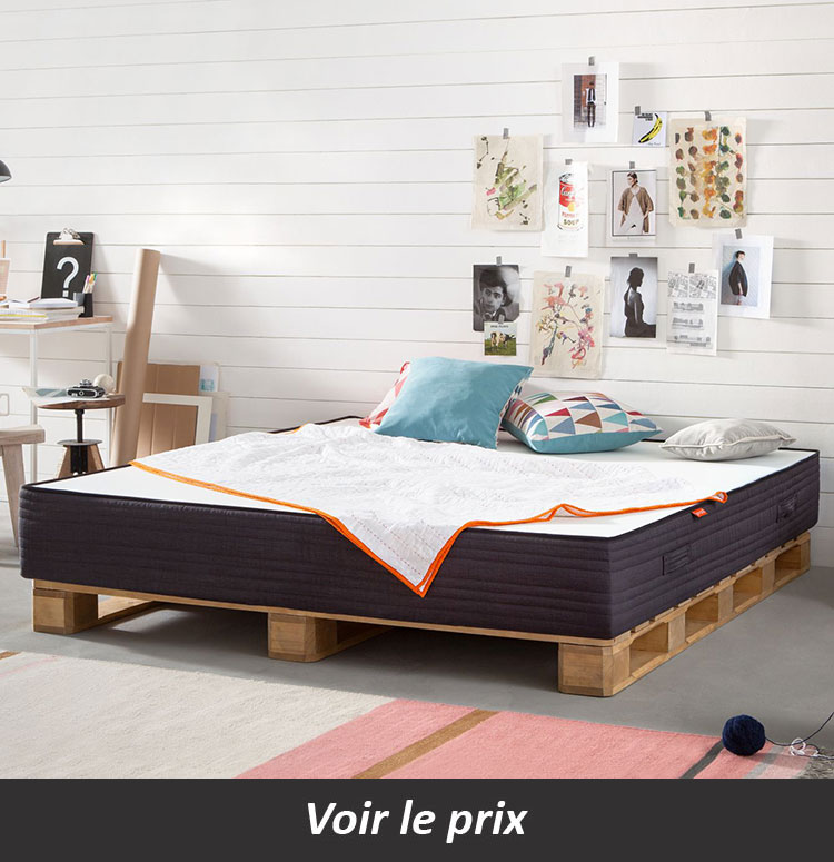 lit en palette 26 id es pour en fabriquer un dans votre. Black Bedroom Furniture Sets. Home Design Ideas