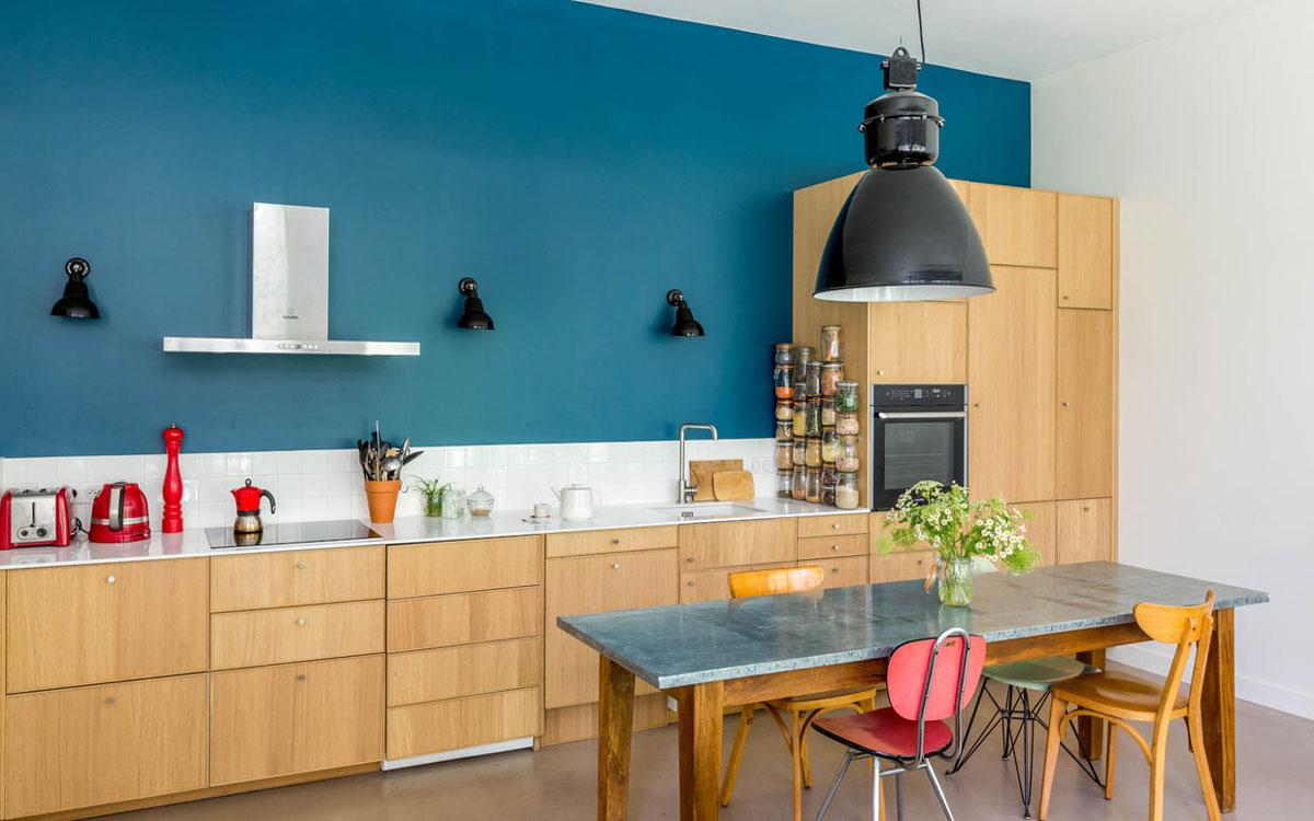 Attrayant Cuisine Bleu Canard