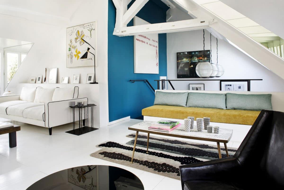 Salon Gris Et Bleu Canard bleu canard : adopter cette couleur dans votre déco