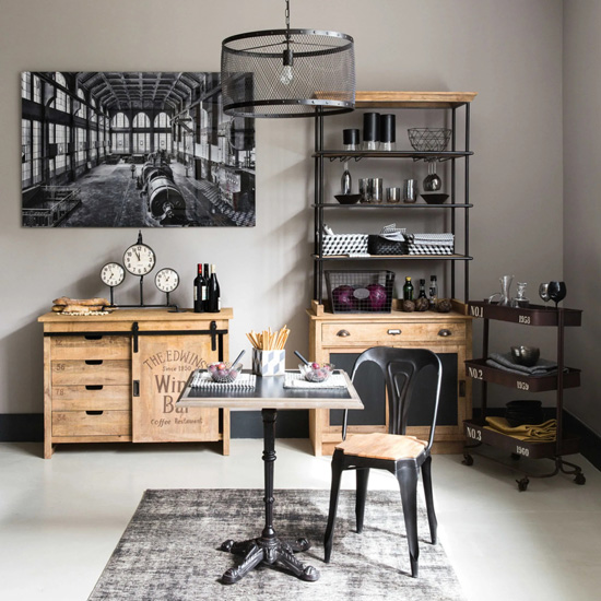 buffet style industriel Germain