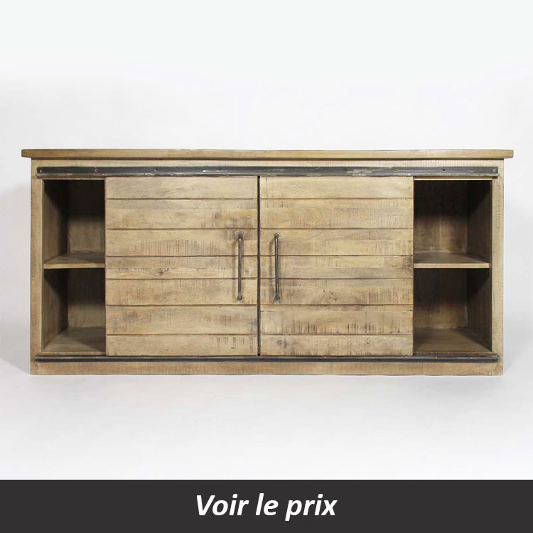 buffet industriel 2 portes Made in meubles