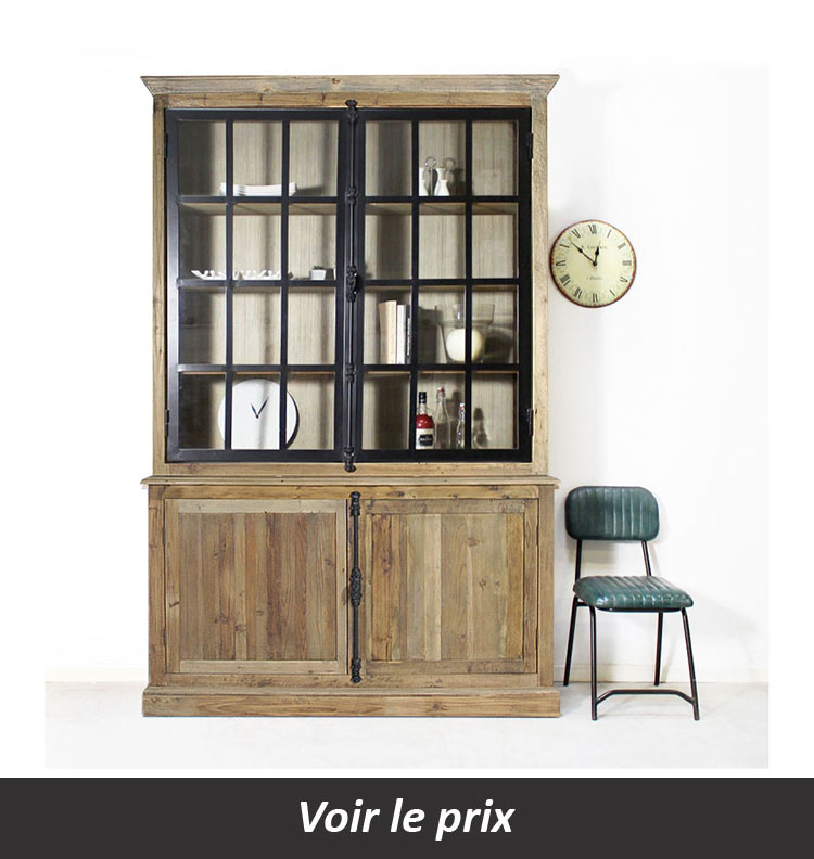 10 mod le de buffet vitrine adopter dans votre salle. Black Bedroom Furniture Sets. Home Design Ideas