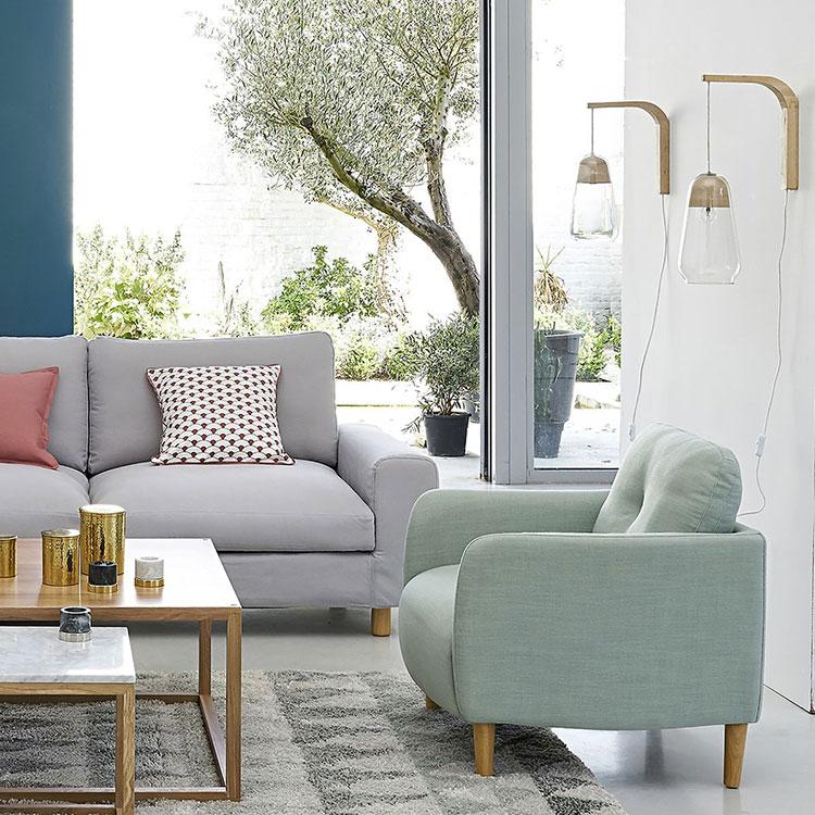 fauteuil scandinave 10 mod les pour un salon au style nordique. Black Bedroom Furniture Sets. Home Design Ideas
