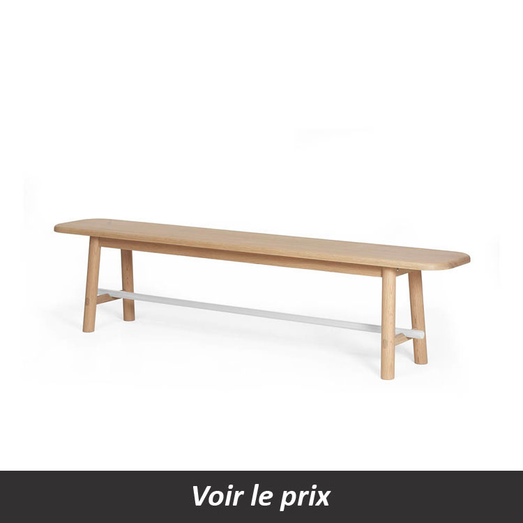 banc en bois banc bois lames banc public en bois en acier amazing banc bois brut con table. Black Bedroom Furniture Sets. Home Design Ideas