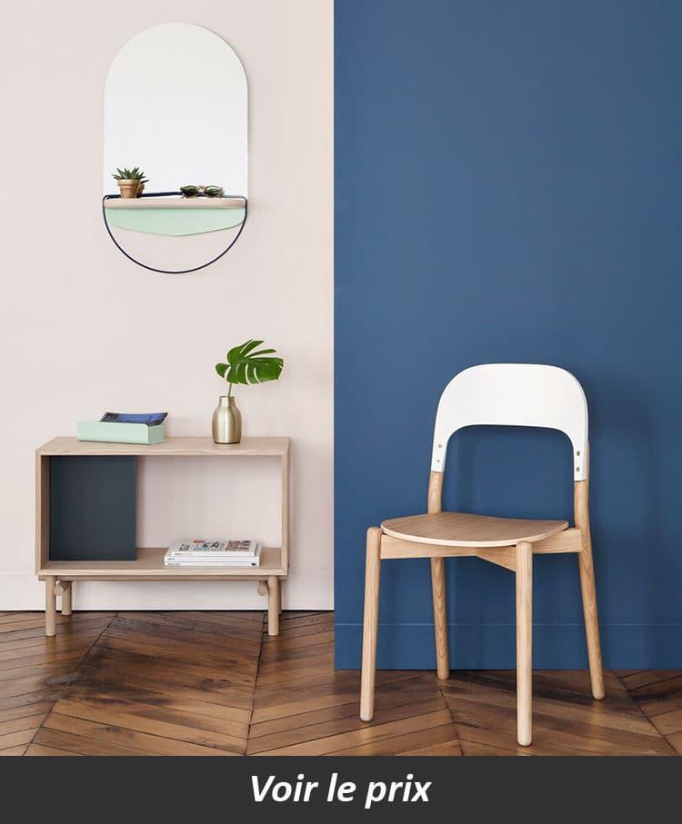 chaise design paula