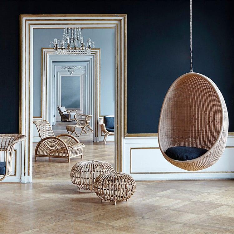 quel fauteuil suspendu en rotin choisir pour se d tendre. Black Bedroom Furniture Sets. Home Design Ideas