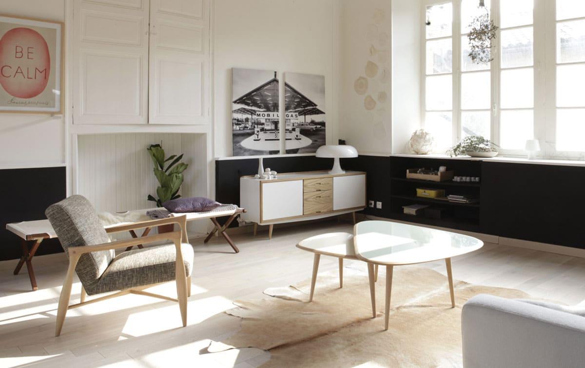 Table basse gigogne : Quel modèle choisir pour un petit salon?