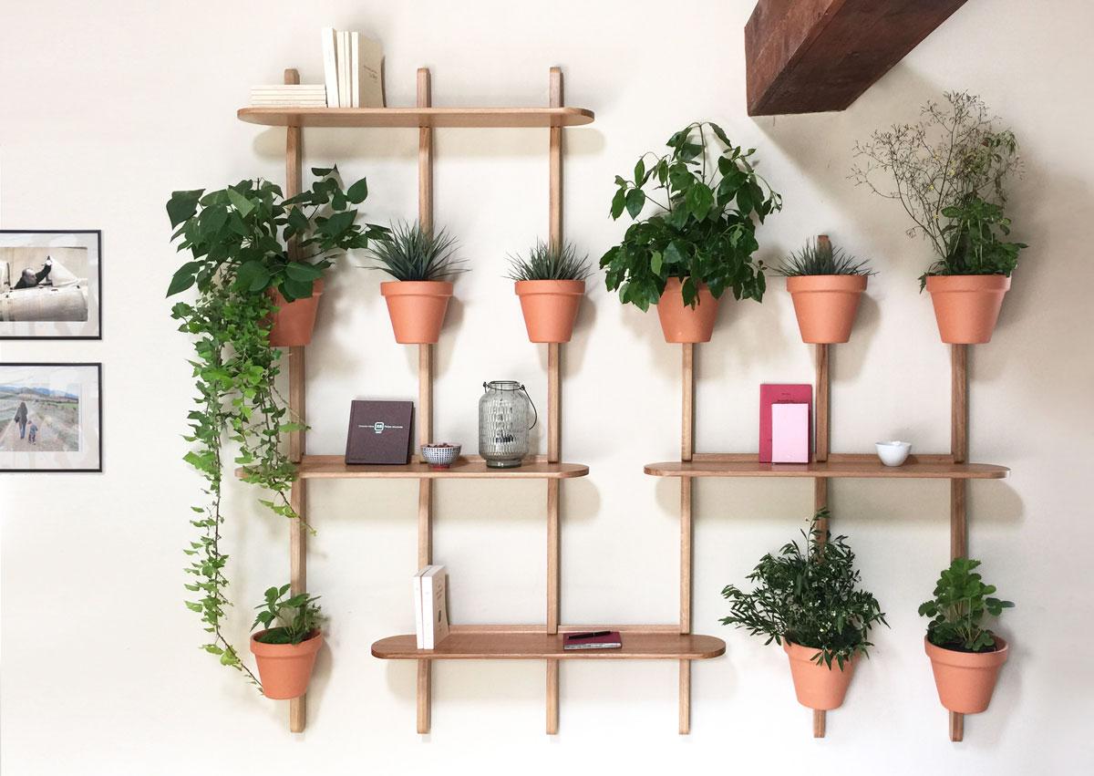 Potager Murale Pour Tres Peu Place 17 idées pour décorer sa maison avec des plantes vertes