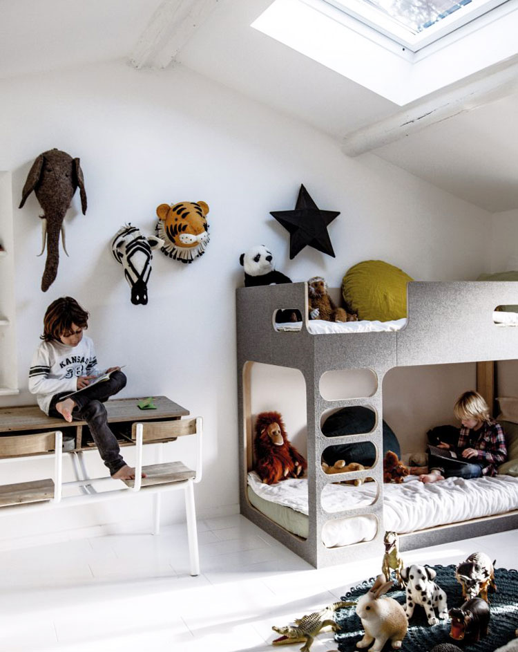 lit superpos enfant quel mod le choisir pour gagner en place. Black Bedroom Furniture Sets. Home Design Ideas