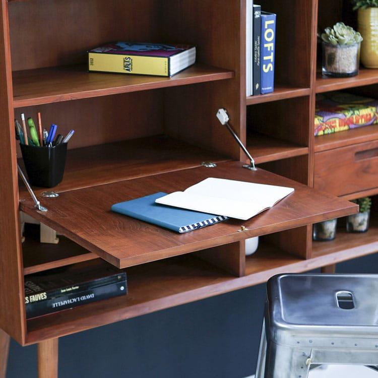 Bureau vintage avec rangement