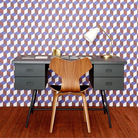 Bureau vintage avec tiroir