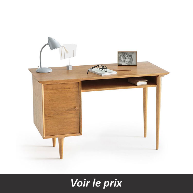 bureau vintage avec placard