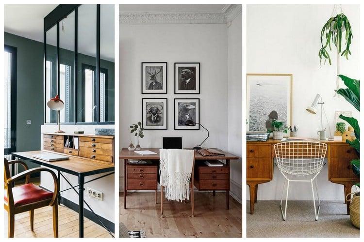 Bureau vintage top des modèles avec un look rétro