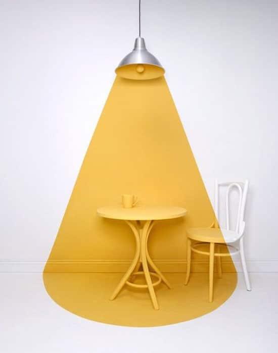 couleur jaune moutarde